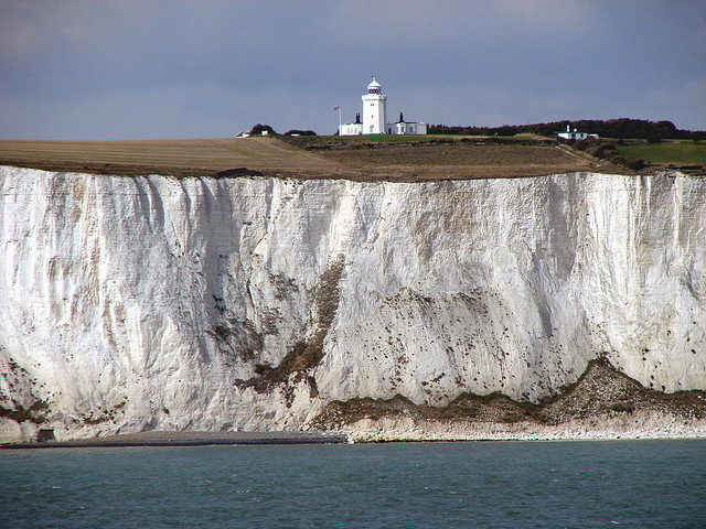 Dover Lighthouse and White Cliffs